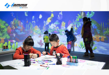 Magic Painting Interactive Touch Screen Projector Multiplayer Available Infrared Sensing Radar