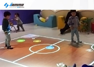 3D Games Interactive Floor Projector For Kids Playground / Shopping Mall