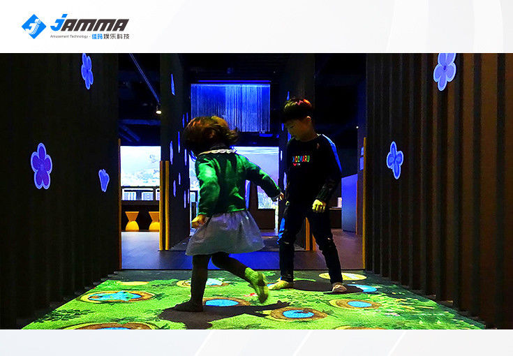 Dynamic Ground Interactive Floor Projector Games for Kids Multiplayer Custom Size