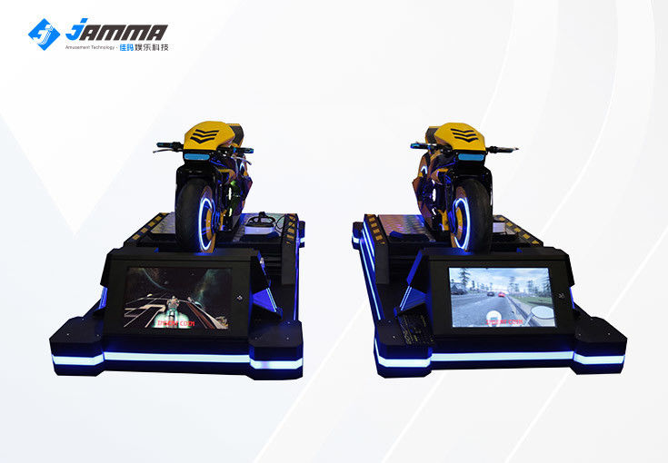 Multiplayer 9D VR Moto Simulator Sport Game Virtual Reality Equipment