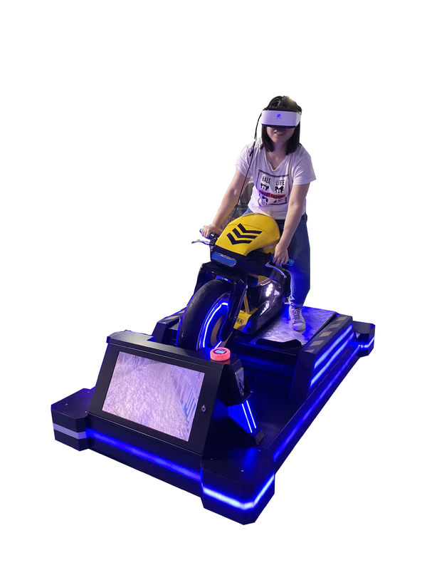 1500W Virtual Reality Moto Racing Simulator 24 Inch Display For Game Center